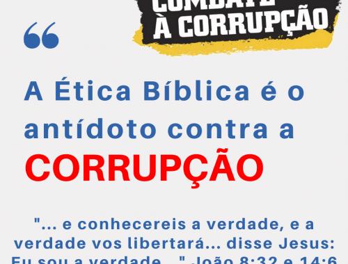 Ética Bíblica Corrupção